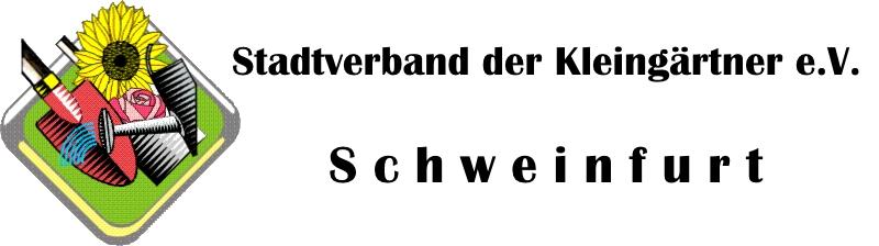Stadtverband der Kleingärtner e.V. - Schweinfurt